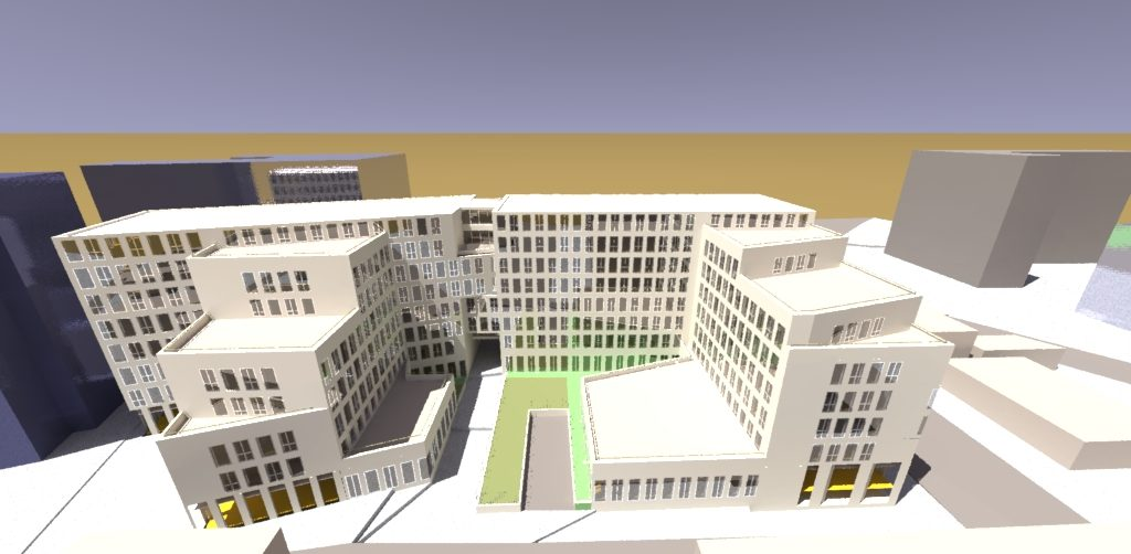 Bâtiment de bureaux à Paris